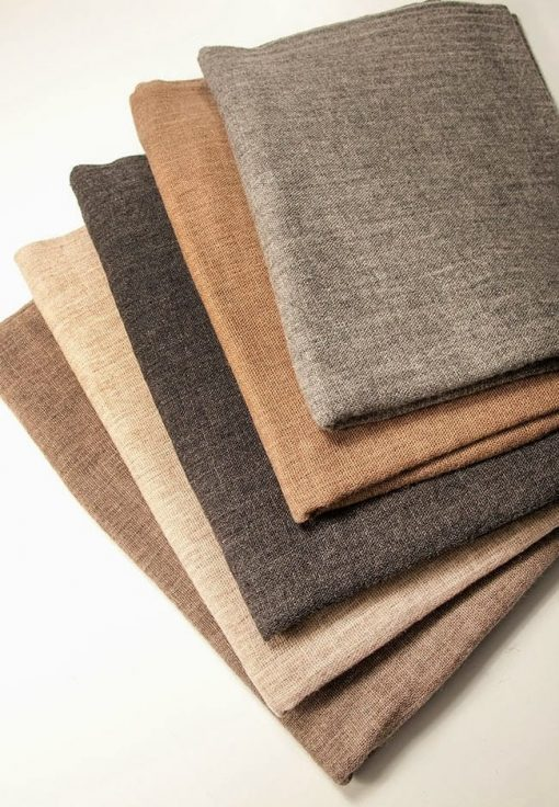 Cashmere shawls in neutral colours