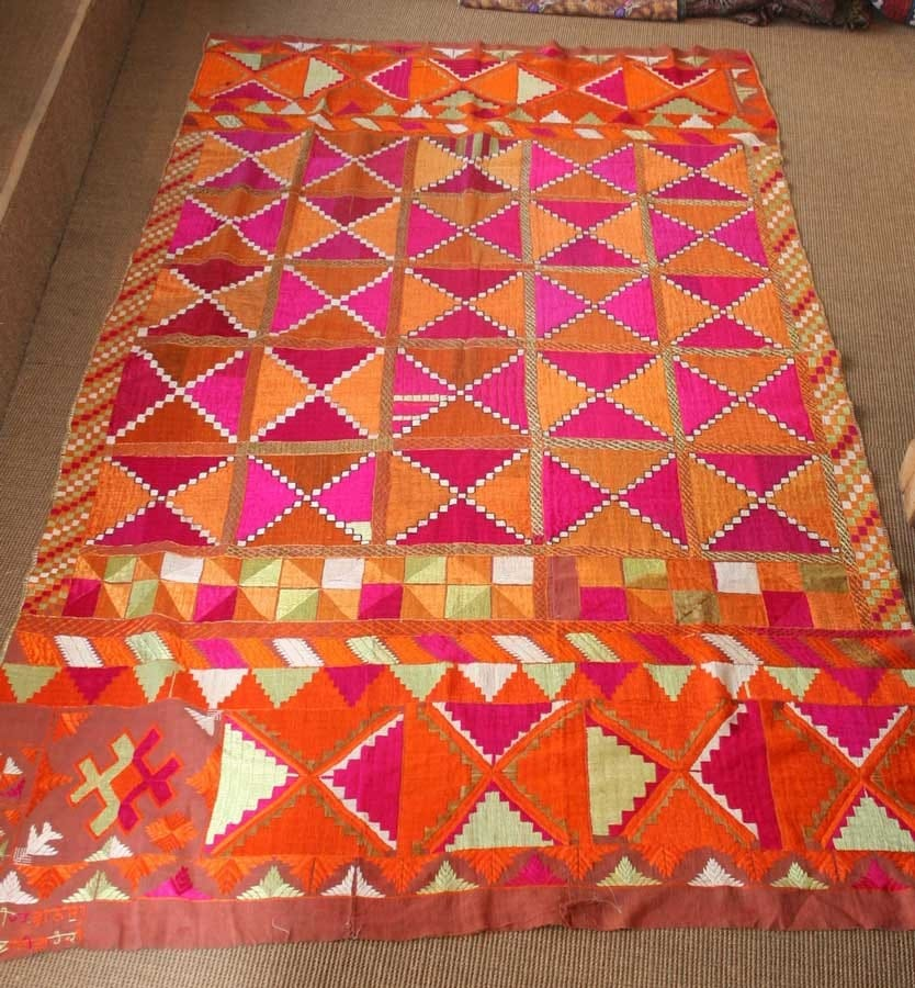 Antique orange and pink Bagh